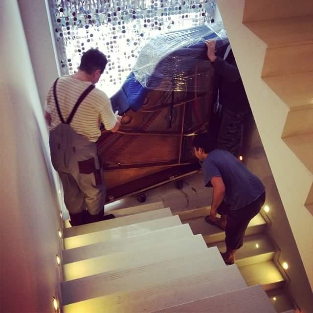 Перевозка рояля