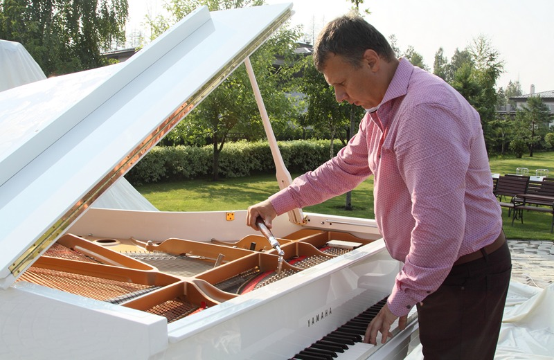 настройка рояля